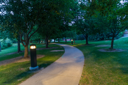 Twilight at Glenmere Park in Greeley, CO
